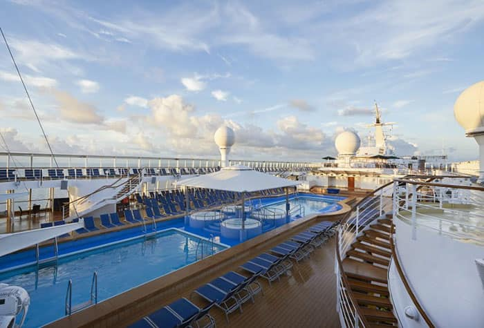 Reacondicionamiento del Norwegian Sun